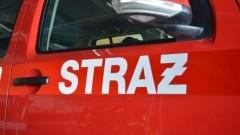 Wypadek na S7. Zderzenie samochodu dostawczego z ciężarowym w Kmiecinie.- tygodniowy raport nowodworskich służb mundurowych.