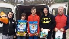 """Jantar: Finał akcji """" Pomóżmy zwierzętom przetrwać zimę """" w Szkole Podstawowej"""
