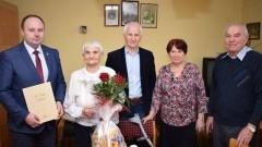 Gmina Nowy Dwór Gdański: 94. urodziny Pani Julianny Orzechowskiej.