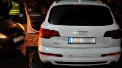 Policja odzyskała dwa skradzione auta. Audi Q7, Opel Movano warte ok. 200 tys. zł.