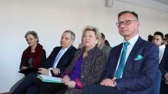 Sztutowo: Starosta Jacek Gross wziął udział w spotkaniu w ramach wystawy w Muzeum Stutthof