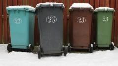 Gmina Stegna: Zamarznięte pojemniki na popiół i odpady zmieszane