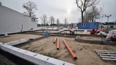 Nowy Dwór Gdański: Ruszyła budowa szatni zapleczem sanitarnym na Miejskich Obiektach Sportowych