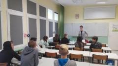 Mikoszewo: Warsztaty z doradztwa zawodowego w Szkole Podstawowej.