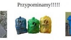 Segregacja śmieci w Gminie Sztutowo. Przypomnienie dla mieszkańców.