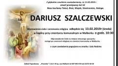Zmarł Dariusz Szalczewski. Żył 53 lata.
