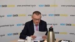 Nowy Dwór Gdański: Spotkanie zarządu Stowarzyszenia Żuławy