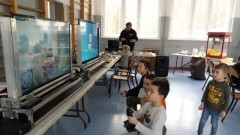 Zimowy piknik w Szkole Podstawowej w Jantarze