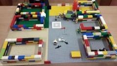 Sztutowo: Akcja pod Arsenałem przedstawiona za pomocą klocków Lego.