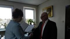 Uroczyste wręczenie aktu powierzenia stanowiska Dyrektora Zespołu Szkół w Tujsku