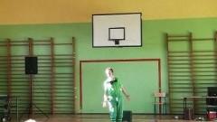 Mikoszewo: Teatr Pinezka wystąpił dla uczestników Dnia Otwartego w Szkole Podstawowej.