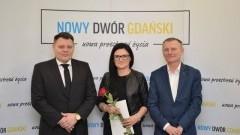 Nowy Dwór Gdański: Wręczenie aktu nadania awansu zawodowego.