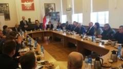 Starosta Nowodworski wziął udział w posiedzeniu Wojewódzkiego Zespołu Zarządzania Kryzysowego