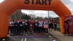 Święto Kobiet obchodzone w Dzień Mężczyzn. Bieg oraz Marsz Nordic Walking z okazji Dnia Kobiet w Malborku.