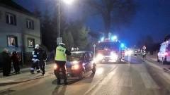 Potrącenie kobiety na ulicy Warszawskiej w Nowym Dworze Gdańskim.