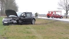 Po spożyciu alkoholu spowodowała wypadek na DK22. Dwie kobiety trafiły do szpitala.