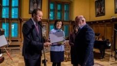 Nowy Dwór Gdański: Doktor Andrzej Kasperek otrzymał stypendium od Marszałka Województwa Pomorskiego