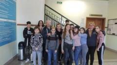 Nowy Dwór Gdański: Uczniowie SOSW im.Ireny Sendlerowej z wizytą w Starostwie Powiatowym