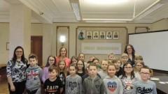 Uczniowie Zespół Szkół w Tujsku z wizytą w Starostwie Powiatowym