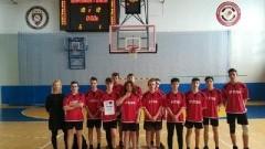II miejsce uczniów ZS w Stegnie w Półfinale Wojewódzkim w Piłce Koszykowej