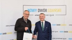 Członek Związku Miast Partnerskich w Hennef odwiedził Nowy Dwór Gdański