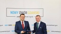 Mobilna komunikacja z mieszkańcami Nowego Dworu Gdańskiego.