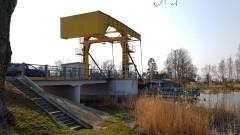 Rybina: Zamknięcie mostu zwodzonego dla ruchu żeglugowego.