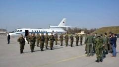 Minister Obrony Narodowej Portugalii João Gomes Cravinho w 22. Bazie Lotnictwa Taktycznego