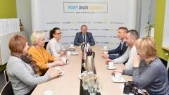 Spotkanie delegacji rosyjskiej w Gminie Nowy Dwór Gdański