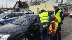 """""""Kamizelki w aucie"""" akcja nowodworskiej policji."""