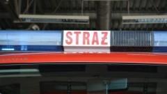 Wypadek kolejki wąskotorowej w Rybinie, zderzenie dwóch aut w Stegnie - raport nowodworskiej straży pożarnej