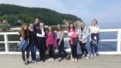 Wycieczka uczniów ZS w Stegnie do Gdańska i Gdyni