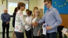 IV Powiatowy Konkurs Wiedzy o Unii Europejskiej w ZSP w Kmiecinie