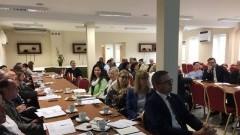 Pomorska Sieć Dyrektorów: Wicestarosta Nowodworski na szkoleniu zespołu samokształcenia.