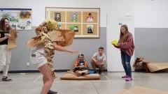 Sztutowo: Nocne warsztaty teatralne w Szkole Podstawowej