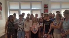 Podziękowania dla młodzieży ze Szkoły Podstawowej nr 2 w Nowym Dworze Gdańskim