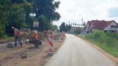 Rozbudowa drogi wojewódzkiej nr 515 Malbork - Grzymała. Zobacz postęp prac na dzień 8 sierpnia 2019