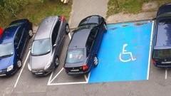Mistrz (nie tylko) parkowania na Konopnickiej w Malborku.