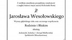 Koleżanki, koledzy i Zarząd Malborskiej Spółdzielni Mieszkaniowej składają kondolencje.