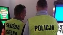 7 nielegalnych automatów do gier zabezpieczonych. Wspólne działania nowodworskiej Policji z Urzędem Celno - Skarbowym