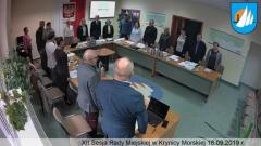 XII Sesja Rady Miejskiej w Krynicy Morskiej. Zobacz na żywo.