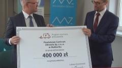 Szpitale w Malborku i Nowym Dworze Gdańskim z dotacją Ministerstwa Zdrowia na zakup nowych ambulansów.