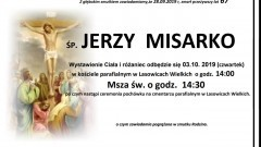 Zmarł Jerzy Misarko. Żył 67 lat.