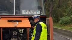 Powiat nowodworski: Autobus niedopuszczony do dalszej jazdy