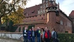 Wspólna wycieczka delegacji miast partnerskich do Malborka