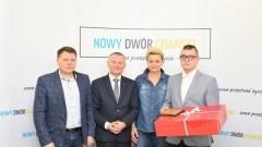 Zawodnik LKS Żuławy nagrodzony przez Burmistrza Nowego Dworu Gdańskiego