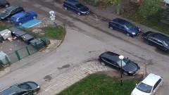 Mistrz (nie tylko) parkowania na Sienkiewicza w Malborku.