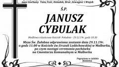 Zmarł Janusz Cybulak. Żył 54 lata.