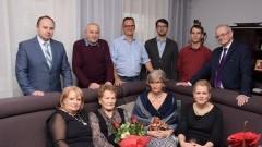 Pani Eleonora Dawidowicz obchodzi jubileusz 90.urodzin