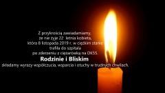 Zmarła 22 – latka. Do wypadku doszło w listopadzie na DK55 w okolicach Sztumu.